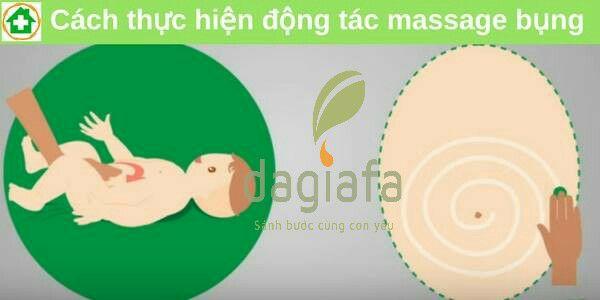 6 cách dùng dầu tràm cho trẻ sơ sinh và trẻ em_ thoa bụng