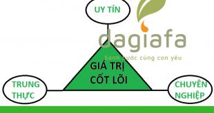 Giá trị cốt lõi tinh dầu tràm Dagiafa