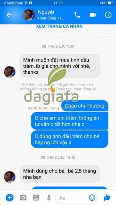 Chị Phương nhắn tin vào fb cá nhân của mình lúc 4h30 sáng