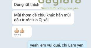 Chị Lam - Nghệ An khen tinh dầu tràm Dagiafa