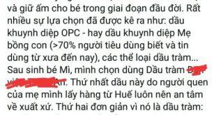 Nhận xét chị Quỳnh mua dầu tràm Dagiafa